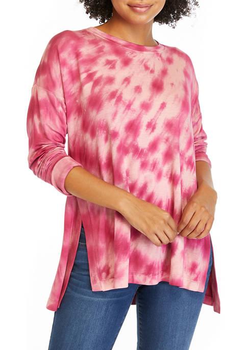 Petite Studio Tie Dye Sweatshirt