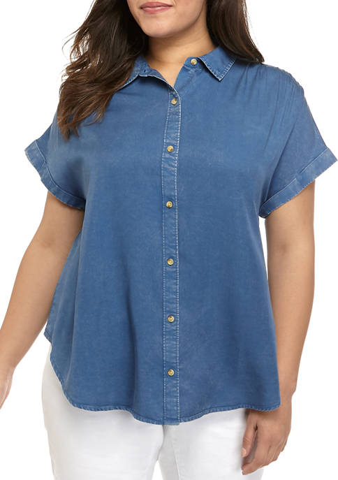 Plus Size Weekend Shirt
