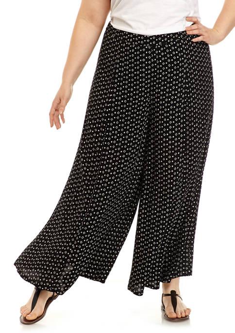 New Directions® Plus Size Wide Leg Pants