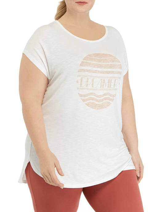 New Directions® Plus Size Short Sleeve Knit Dream