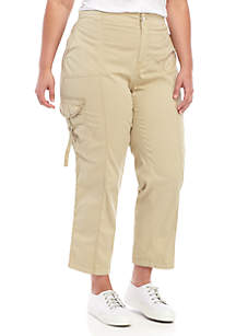 New Directions® Plus Size Convertible Cargo Pants