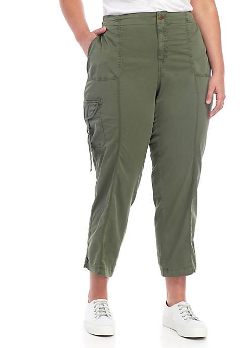 Plus Size Convertible Cargo Pants