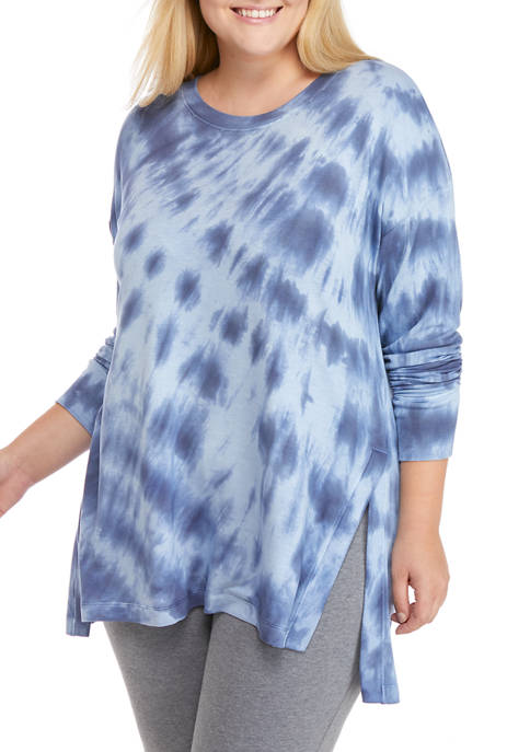 Plus Size Studio Tie Dye Sweatshirt