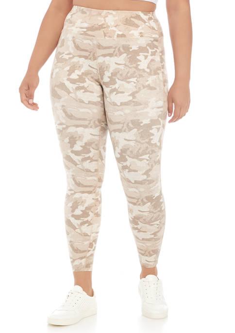 Wonderly Plus Size Ruched Side Leggings