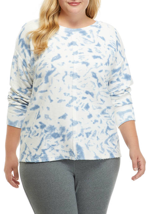New Directions® Studio Plus Size Tie Dye Raw
