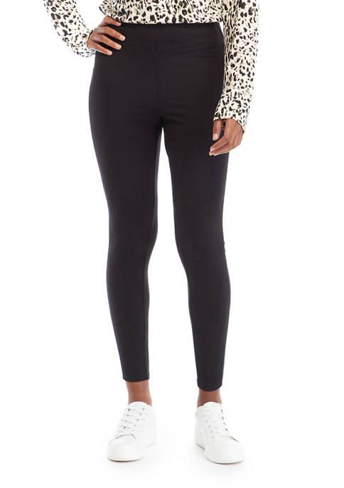 New Directions® Studio Womens Leggings with Velvet Taping