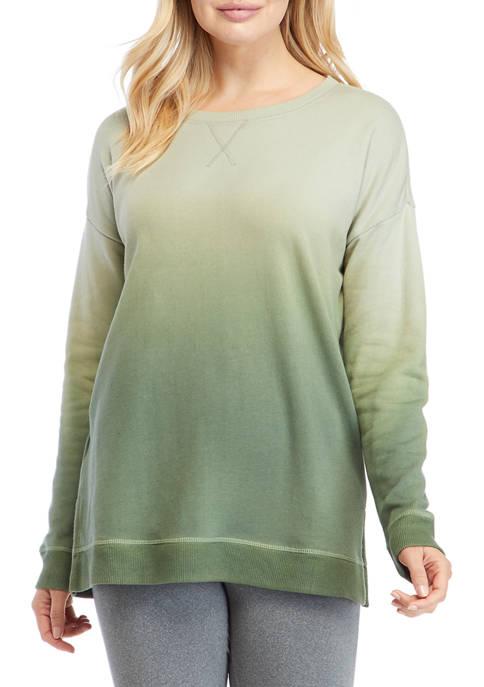 New Directions® Studio Womens Drop Shoulder Sleeve Dip