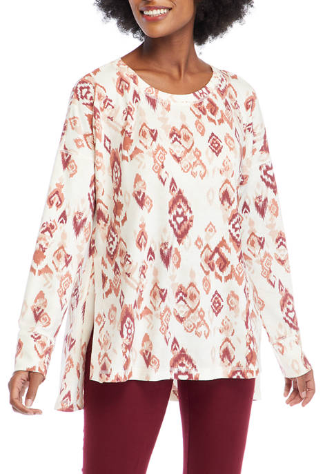 New Directions® Studio Womens Crew Neck Sweatshirt with