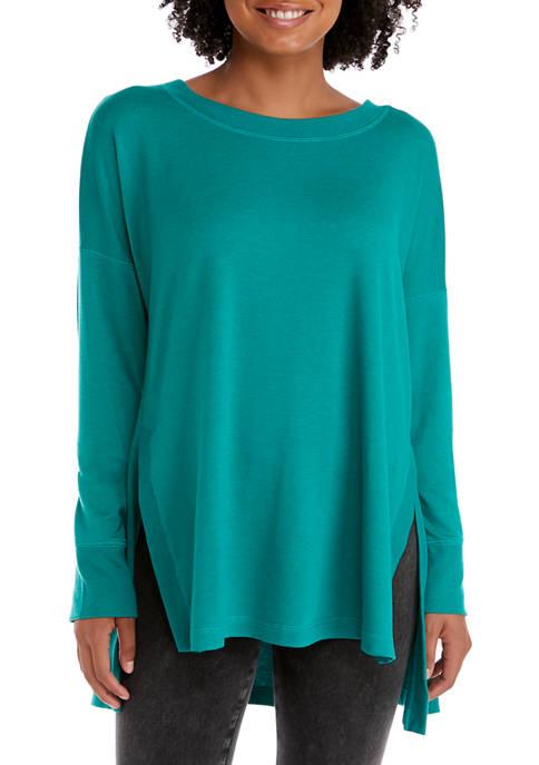 New Directions® Studio Womens Crew Neck Sweater