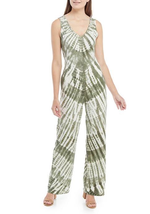 New Directions® Studio Womens Sleeveless Knit Jumpsuit