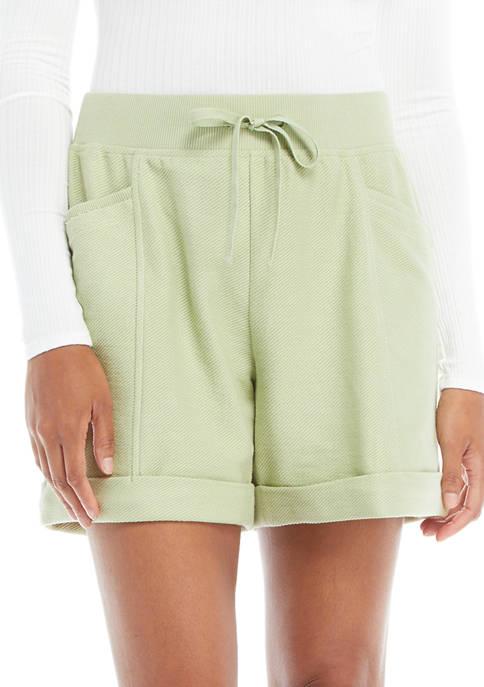 New Directions® Studio Womens Pull On Drawstring Shorts