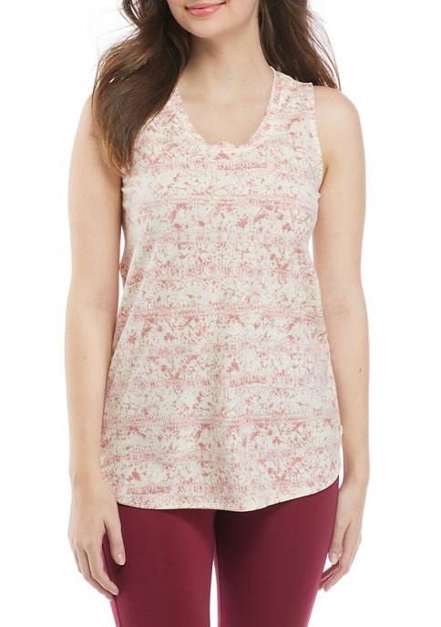 New Directions® Studio Womens Sleeveless Baby Crew T-Shirt