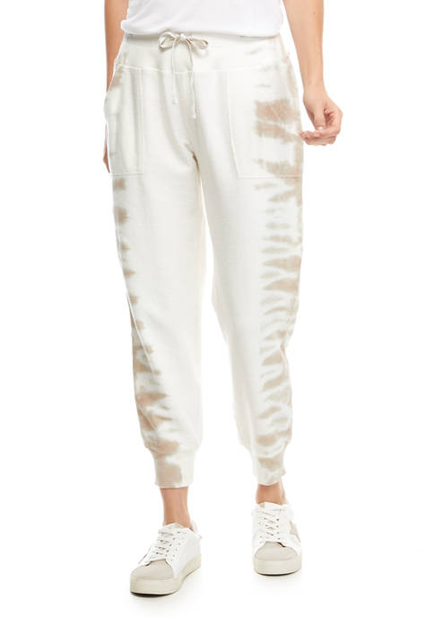 New Directions® Studio Womens Placement Tie Dye Terry