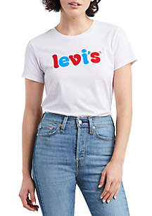 Levi's® The Perfect Flock Logo Graphic T Shirt