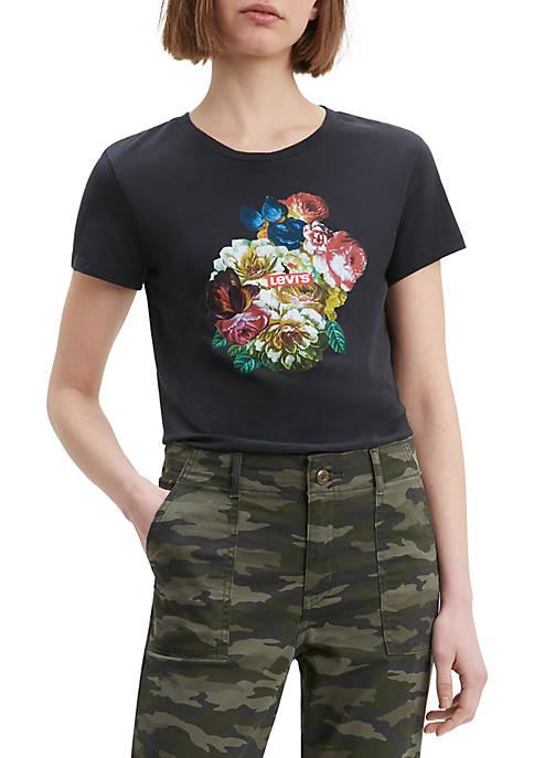 Meteorite Flower Explosion Perfect T Shirt