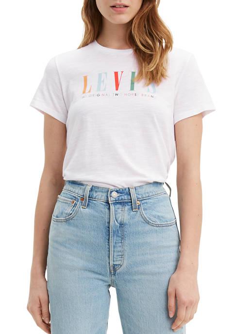 Levi's® Multi Logo Graphic Perfect T-Shirt