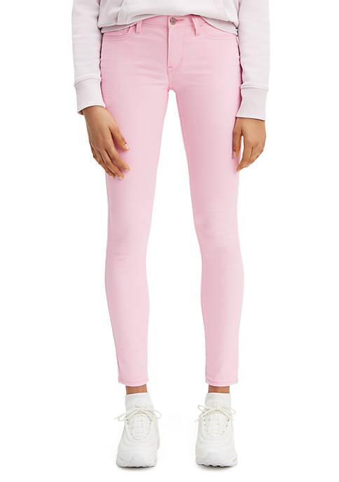 Levi's® 710 Super Skinny Pink Sateen Pants