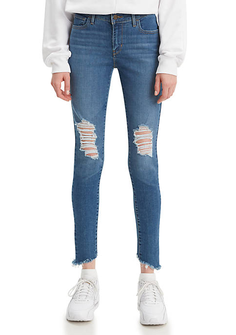 Levi's® Super Skinny Quebec Storm Mid Rise Jeans