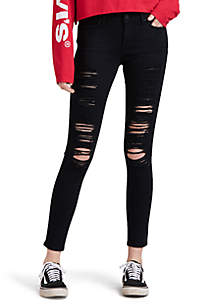Levi's® 711 Skinny Jeans\t001\tMystery Black