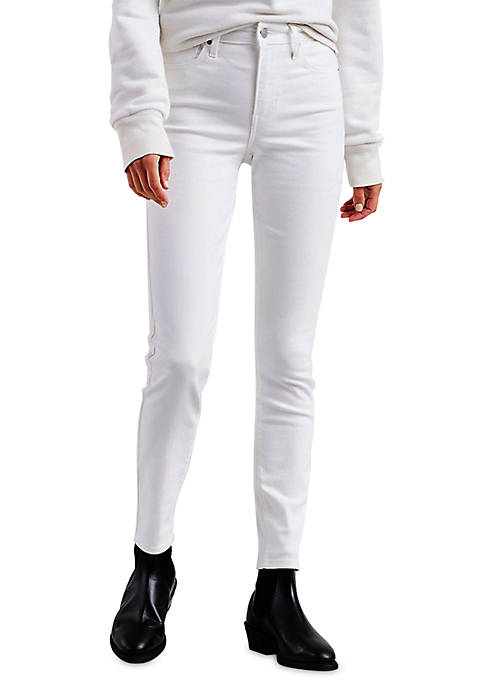 Levi's® 721 High Rise Skinny Soft White Jeans