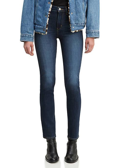 Levi's® High Rise Straight Leg Jeans