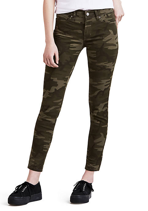 Levi's® 711 Skinny Ankle Pants Soft Camo