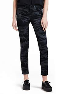 Levi's® 711 Black Camo Skinny Jeans