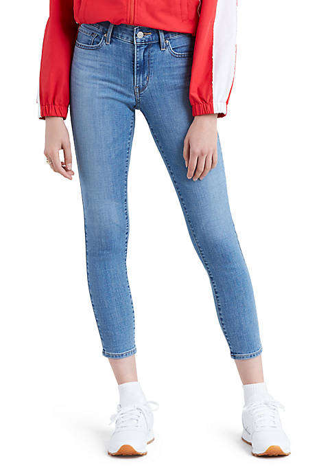 Levi's® 711 Hawaii Sunset Skinny Ankle Jeans