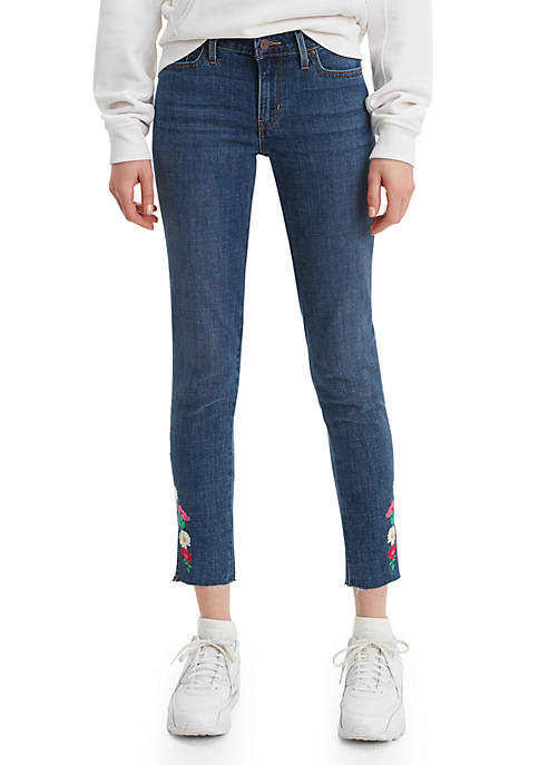 Levi's® Skinny Ankle Feeling Lucky Jeans