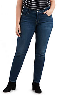 Plus Size Shaping Skinny Footloose Jeans