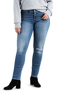 Plus Size 311 Heathers Shaping Skinny Jeans