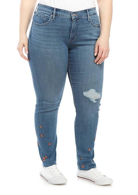 Levi's® Plus Size 311 Indigo Oasis Shaping Skinny