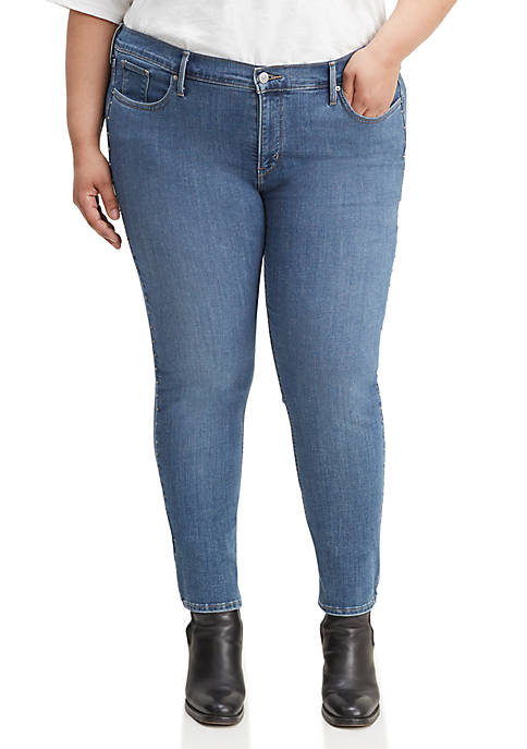 Levi's® Plus Size Shaping Skinny Hawaii Waves Jeans