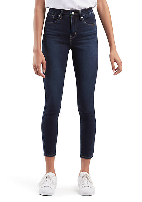 721 Carbon Bay High Rise Skinny Ankle Jeans