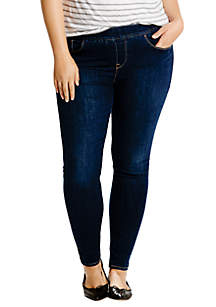 Plus Size Perfectly Slimming Pull On Leggings