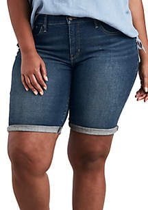 Levi's® Plus Size Shaping Pier 39 Bermuda Shorts