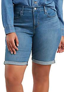 Levi's® Plus Size Windsurfer Bermuda Shorts