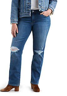 Plus Size Lucky Straight Jeans