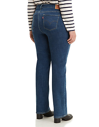 Plus Size Straight Maui Waterfall Jeans