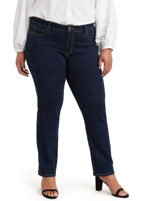 Plus Size 414 Classic Straight Jeans