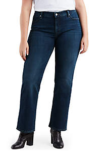 Plus Size Easy Everyday Bootcut Jeans