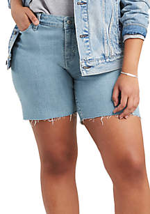 Levi's® Plus Size New Fresh Flower Shorts