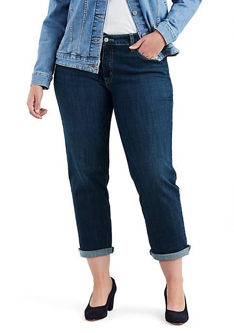Plus Size Easy Everyday Boyfriend Jean