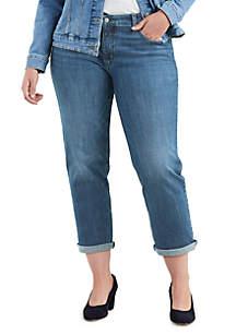 Levi's® Plus Size Oceans Away Boyfriend Jeans