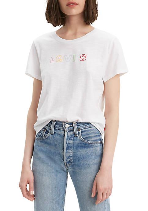 Graphic Surf Rainbow T Shirt
