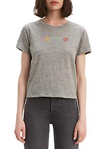 Levi's® Graphic Surf Rainbow Smokestack T Shirt