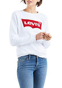 Levi's® Relaxed Graphic Batwing Top