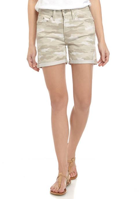 Levi's® Mid Length Short Tamburitza Camouflage Shorts
