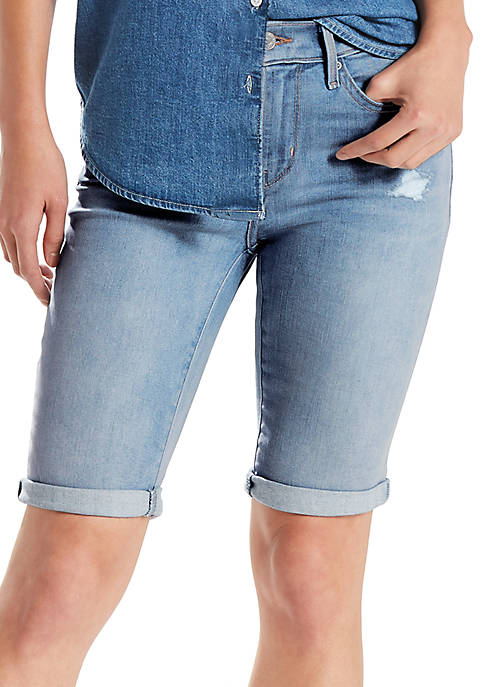 Levi's® Damaged Goodies Update Bermuda Shorts