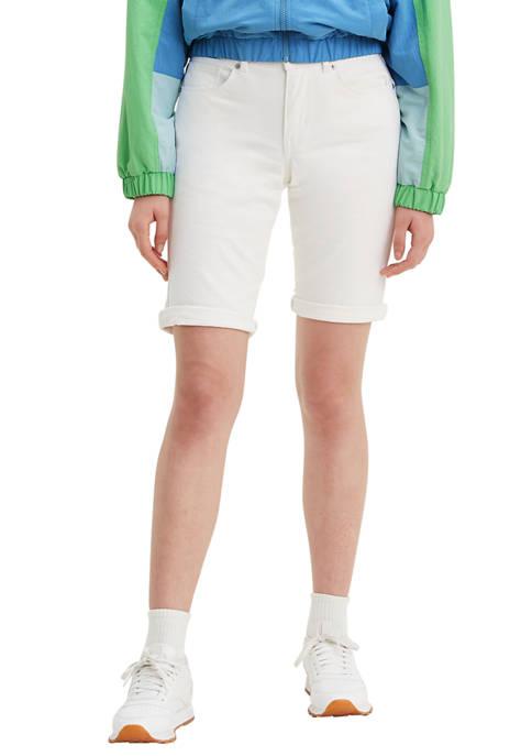 Levi's® Simply White Bermuda Shorts
